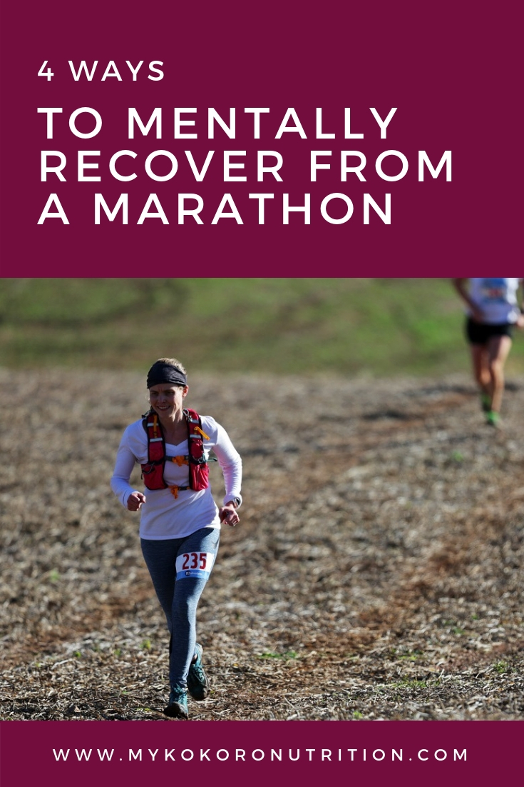 Mentally Recovery from Marathon