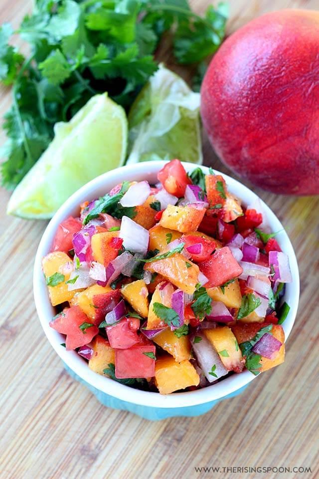 peach salsa recipe mykokoronutrition