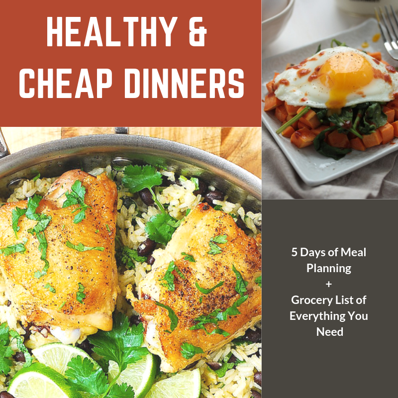 Healthy & Cheap Dinners