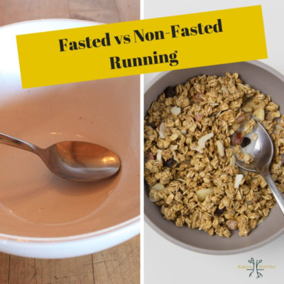running fasted