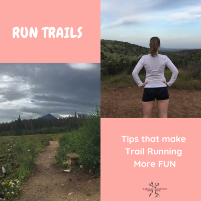 Making Trail Running more fun