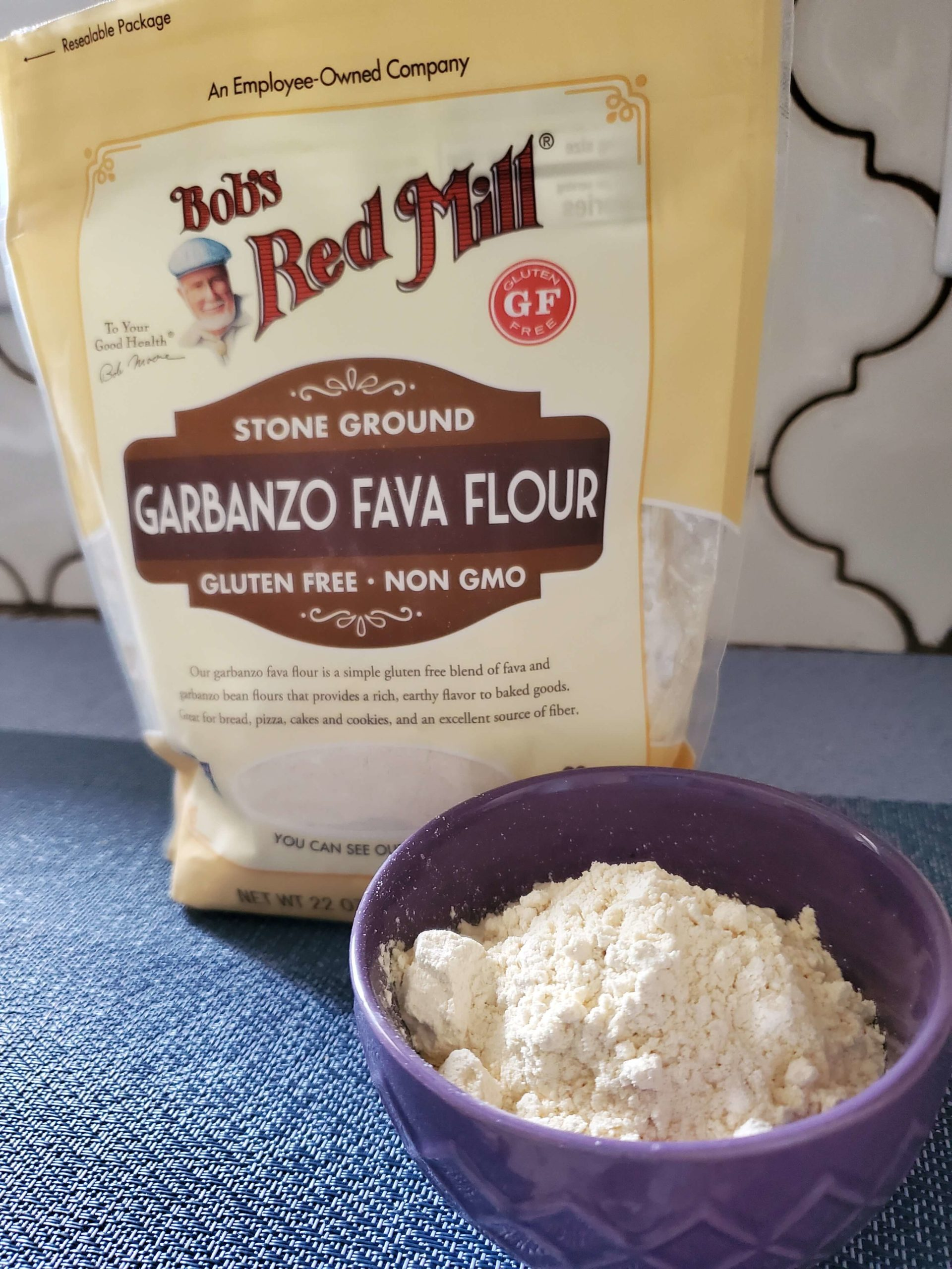 chickpea flour for baking quick breads